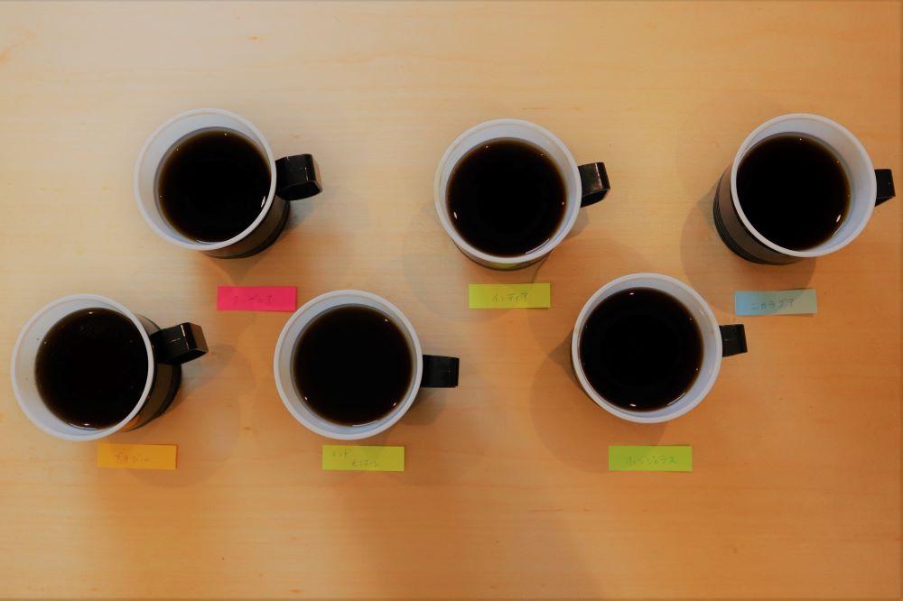 コーヒー比較