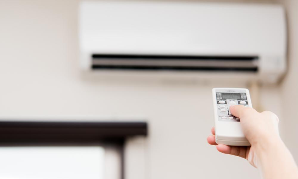 エアコンの温度設定