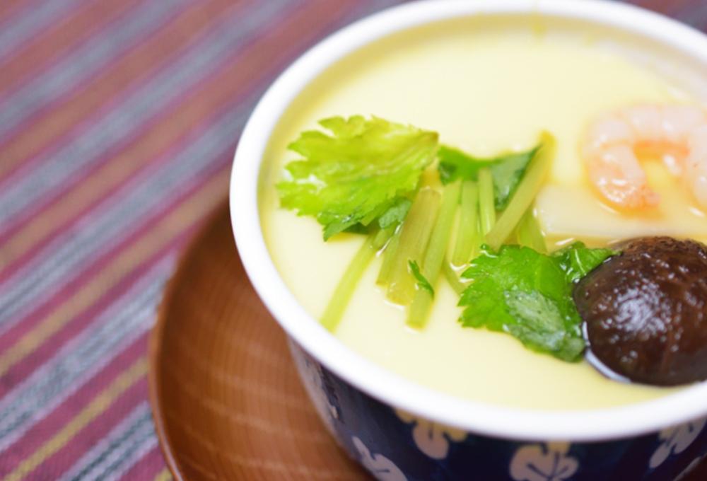 青森の茶碗蒸しに入れる調味料の分量で一番多いのは?