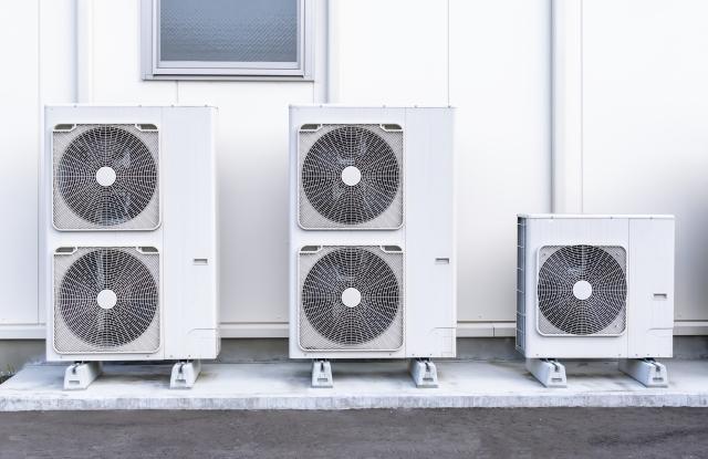 エアコンには業務用と家庭用がある