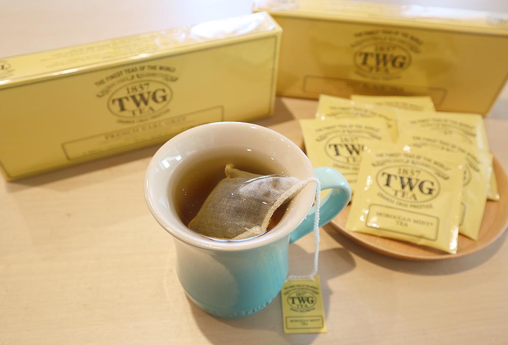 憧れのTWG Tea! ラグジュアリー感の敷居が高く、店舗営業中でもなぜか店内に足を踏み入れることができないブランド力!