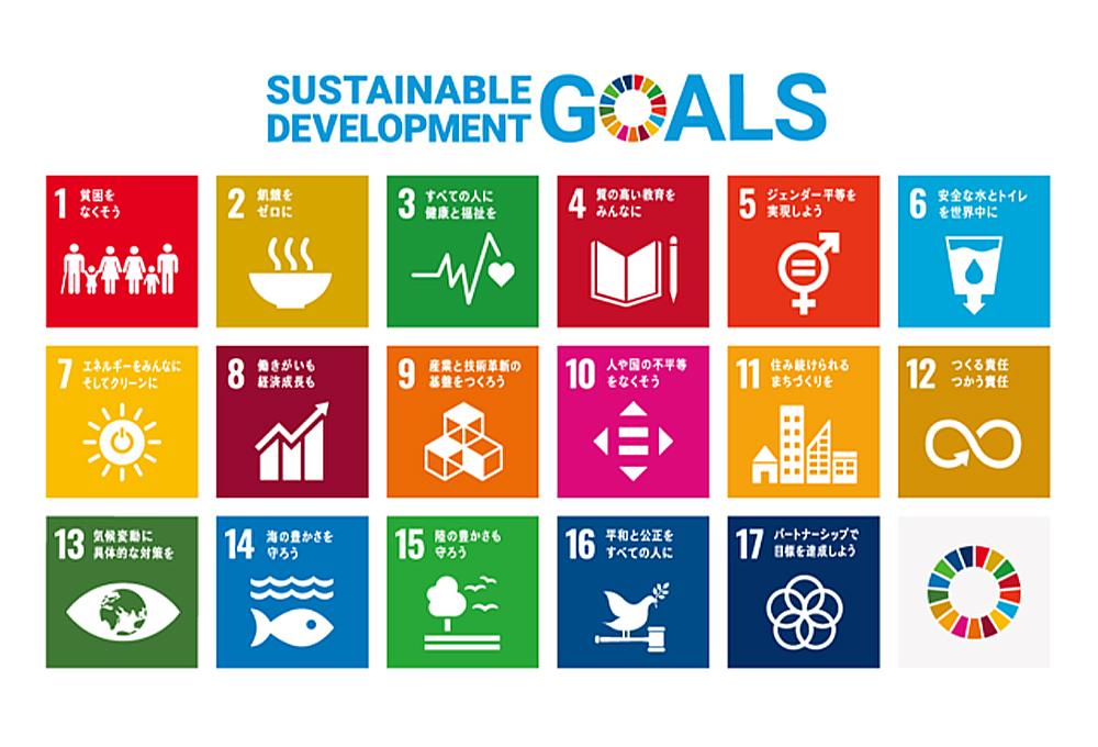 SDGs は、17のゴールと169のターゲットで構成されています!