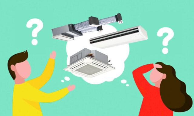 業務用エアコンはどんな種類があるの?