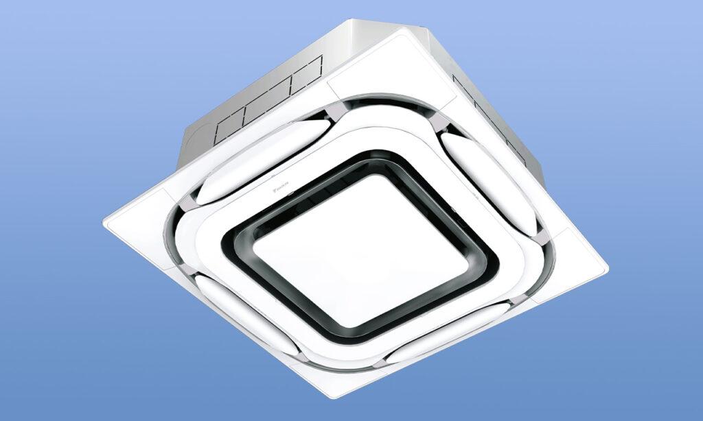 天井埋込カセット形 S-ラウンドフロータイプデザイナーズパネル