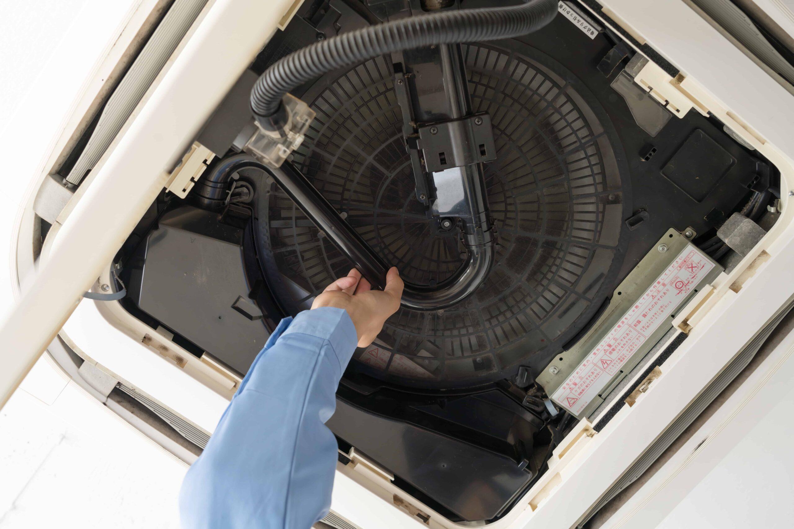 業務用エアコンの取付工事について